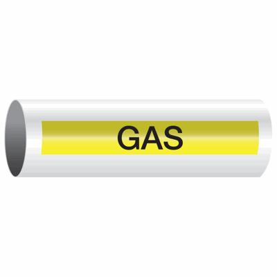 Opti-Code™ Self-Adhesive Pipe Markers - Gas