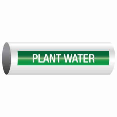 Opti-Code™ Self-Adhesive Pipe Markers - Plant Water
