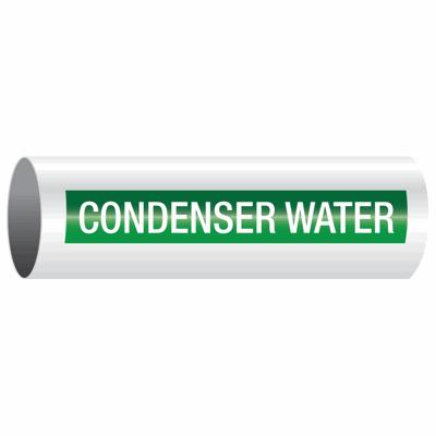 Opti-Code™ Self-Adhesive Pipe Markers - Condenser Water