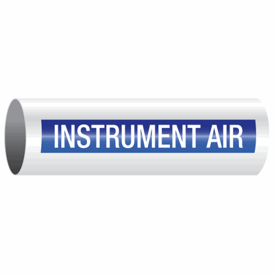 Opti-Code™ Self-Adhesive Pipe Markers - Instrument Air