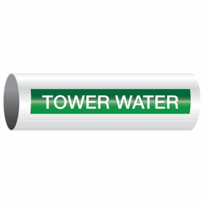 Opti-Code™ Self-Adhesive Pipe Markers - Tower Water