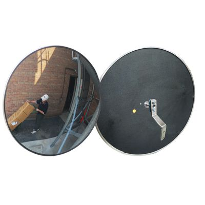 Outdoor Acrylic Convex Mirror, Z Bracket