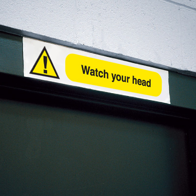 Overhead Sign - Watch Your Head