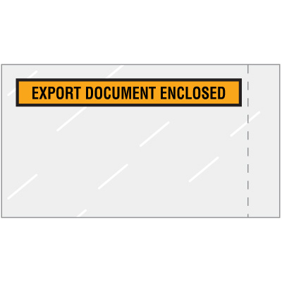 Export Document Enclosed Packing Envelopes