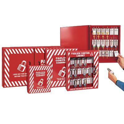 Padlock Control Cabinet