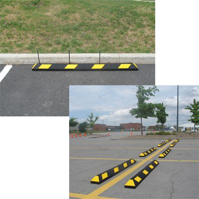 Park-It Rubber Parking Curb