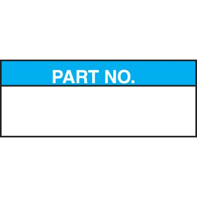 Part Number Status Labels