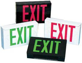 UL924 Perimeter L.E.D. Exit Signs