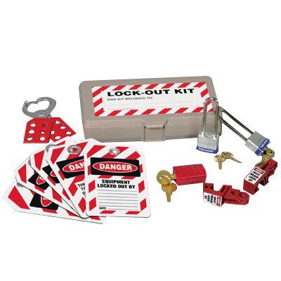 Single-User Electrical Lockout Kit