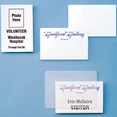Photo ID Lamination Envelopes - Long Side Slot