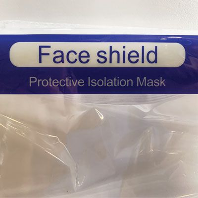 Adjustable Anti-Fog Full Face Shield – Case of 20