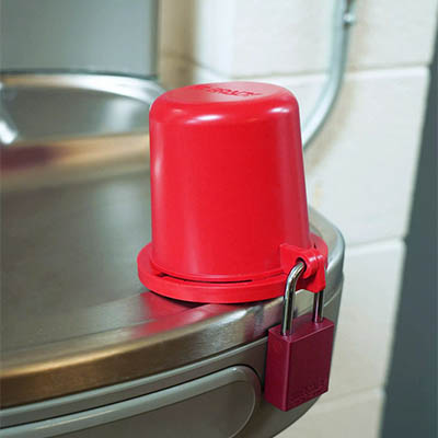 Brady® Drinking Fountain Safety Cover Kit for 6 Fountains