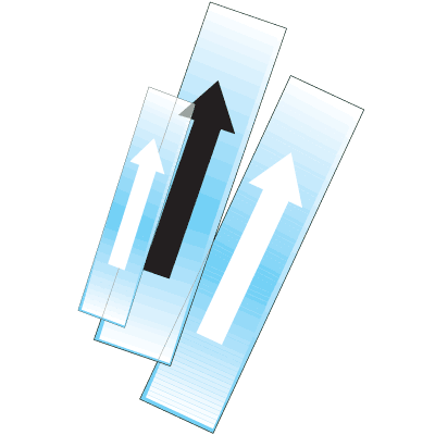 Poly-Code™ Clear Pipe Marker Directional Arrows