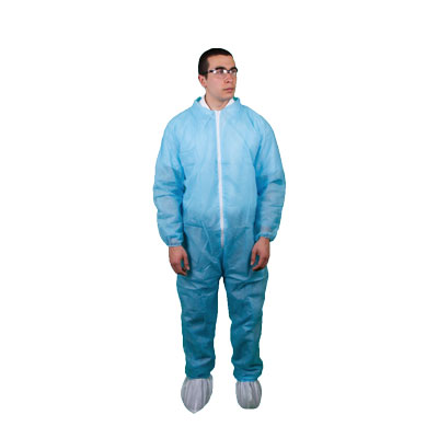 Keystone Polypropylene Disposable Coverall, Size M