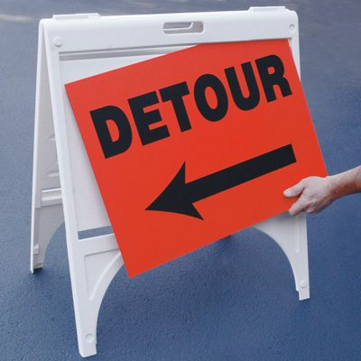 Portable Emergency Response Signs - Detour