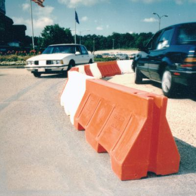 Portable Traffic Barrier