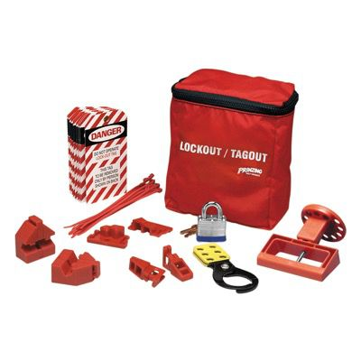 Prinzing® BREAKER LOCKOUT POUCH KIT