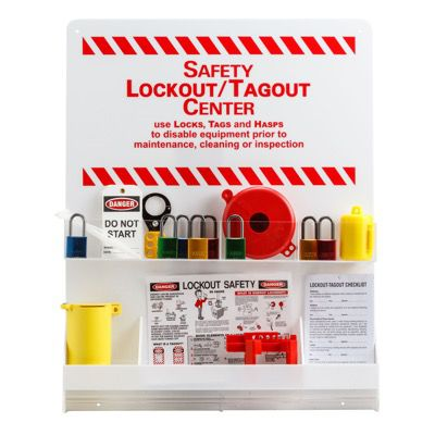 Prinzing® LARGE WHITE LOCKOUT CENTER
