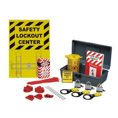Brady Prinzing Economy Lockout Kit - Complete Set - Part Number - 45627 - 1/Each