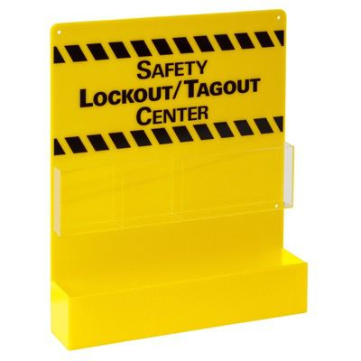 Prinzing® SMALL YELLOW LOCKOUT BOARD