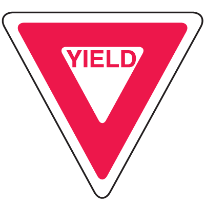 Private Property Signs - Yield