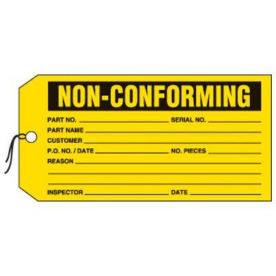 Non-Conforming Status Labels