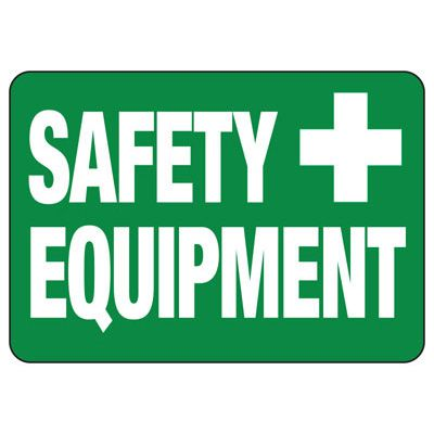 Safety Equipment - PPE Sign