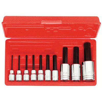 Proto® - 10 Pc. Hex Bit Socket Sets 4900A