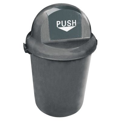 Push Door Waste Receptacle