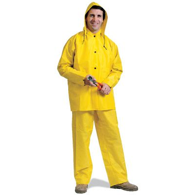 Safety Today PVC 3-Piece Rain Suit