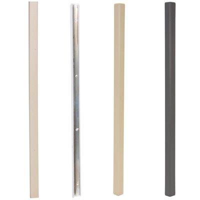 PVC Plastic Corner Protectors with Aluminum Insert