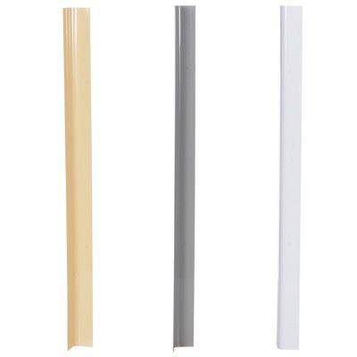 PVC Plastic Corner Protectors - Rounded