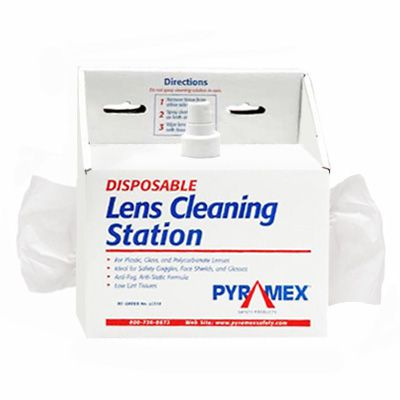 Safety Glasses Cleaning Station