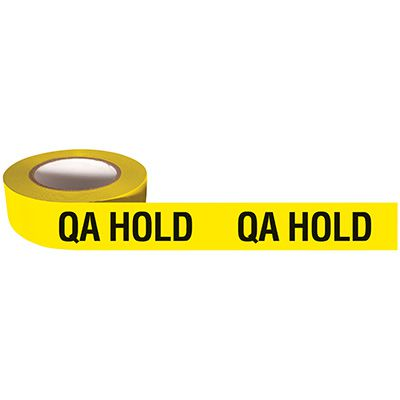 QA Hold Adhesive Backed Quality Control Tapes