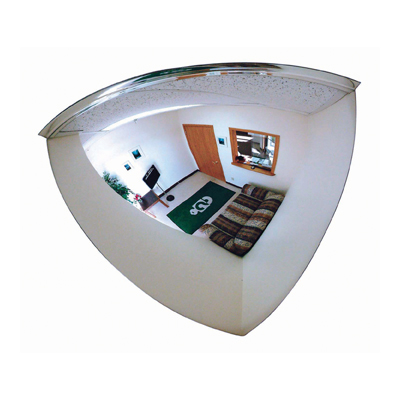 Quarter Dome Acrylic Security Mirror