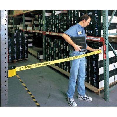 QuickMount™ Safety Barricades - Caution Stripes 50-3016U/WB/18/SF
