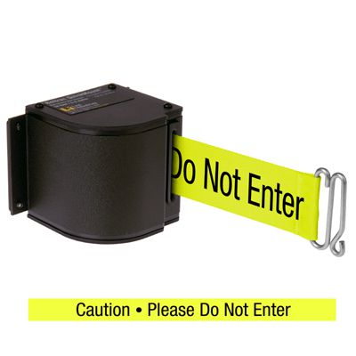 QuickMount™ Safety Barricades - Please Do Not Enter 50-3016U/WB/18/FY/S6