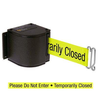 QuickMount™ Safety Barricades - Temporarily Closed 50-3016U/WB/18/FY/S7