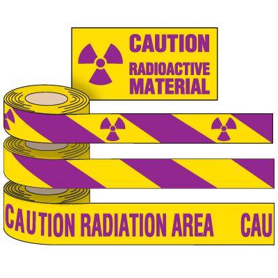 Radiation Hazard Marking Tape