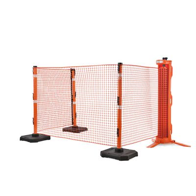 RapidRoll Portable Barrier - Raised Profile Fence