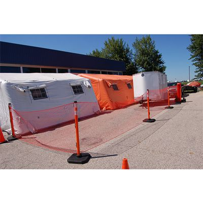 RapidRoll Wheeled Portable Barrier System
