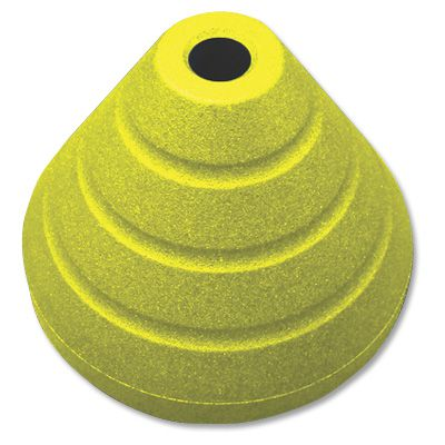 Rubberform Yellow Base With 5 ft. Post RF-SGBR70PC