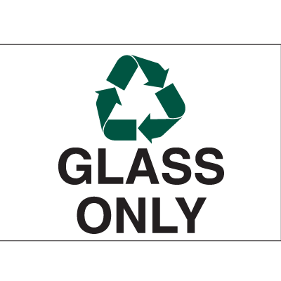 Recycling Labels - Glass Only
