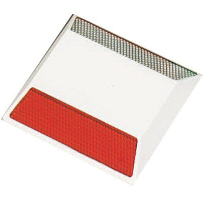Reflective Pavement Markers - 1-Way Red Reflector/1-Way White Reflector