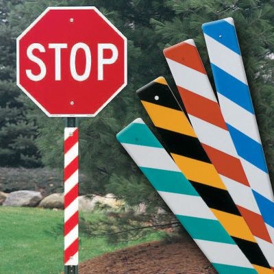 Reflective Sign Post Panels
