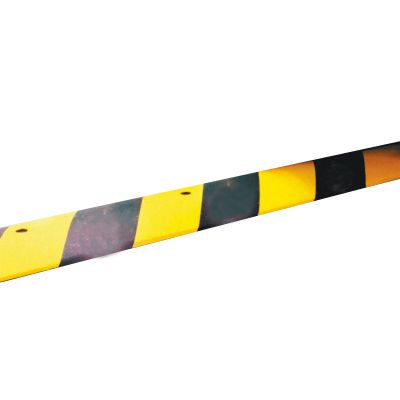 Striped Reflective Rubber Speed Bumps