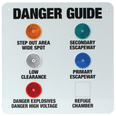 Reflector Warning Board
