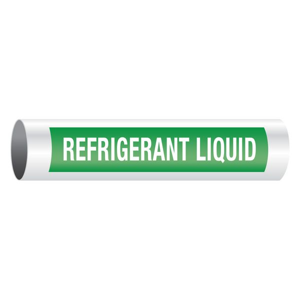 Refrigerant Liquid - Opti-Code™ Self-Adhesive Pipe Markers