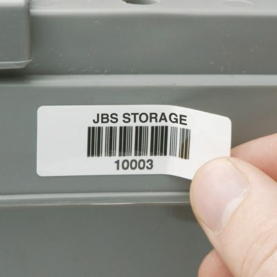 Removable Bar Code Labels