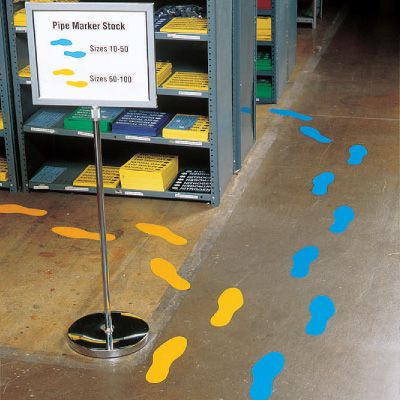 Removable Footprints